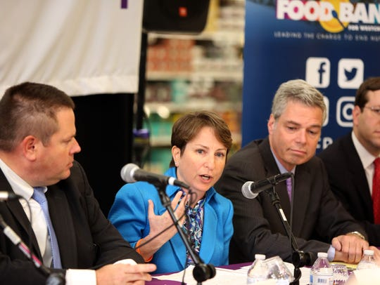 Leslie Gordon, president and CEO of the Food Bank for