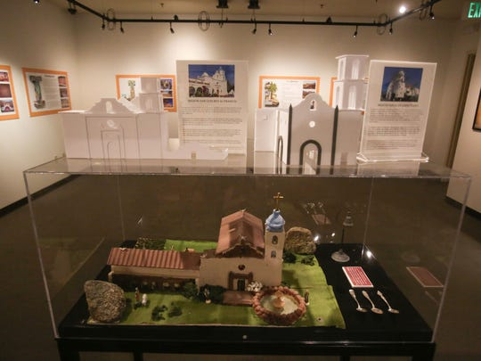 """The """"California: A to Z"""" exhibit at the La Quinta Museum"""
