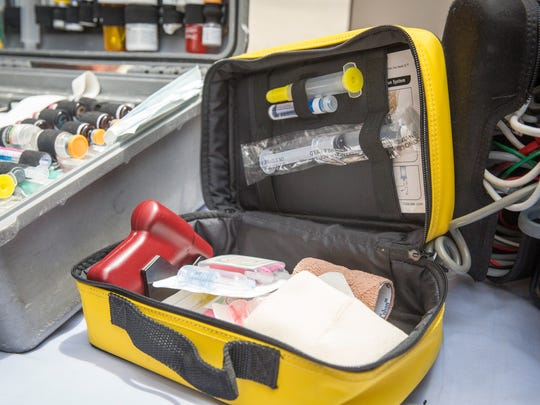 A bone drill is one way the paramedics can introduce fluids to a patient if they are unable to use an IV.
