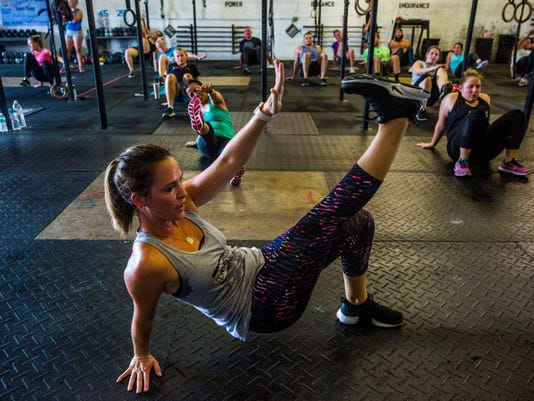 Meet Me at the Gym: A taste of \'Insanity\' at East Naples crossfit gym