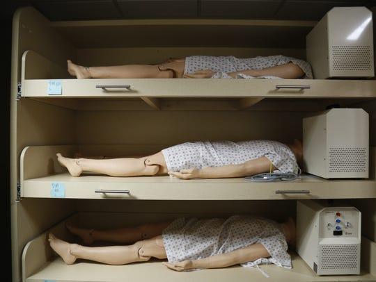"Sophisticated patient simulators in the ""mannequin"