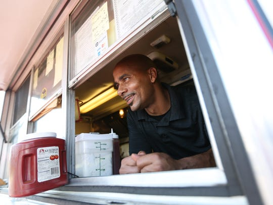Alphonso Russell, owner of Russell's Quality Foods,