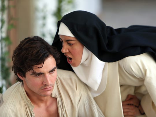 "Dave Franco and Aubrey Plaza have a, well, moment in ""The Little Hours."""