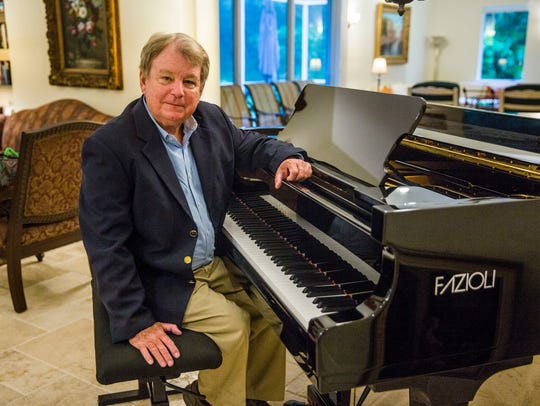 Concert pianist and composer William Dawson at the