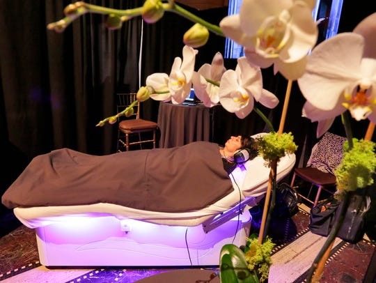 The Spa Wave bed from the ame Spa & Wellness Collective,
