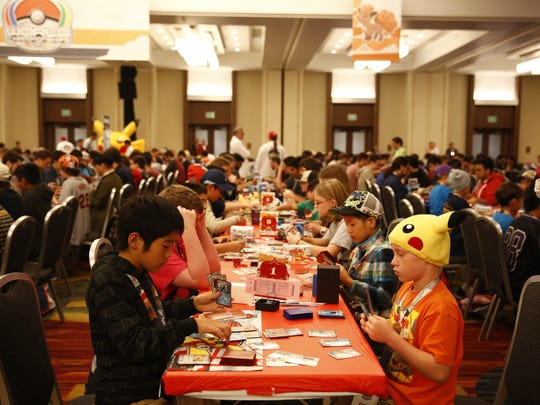 Over 1,700 competitors, of all ages, participate in