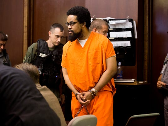 Mesac Damas, who is accused of killing his wife and