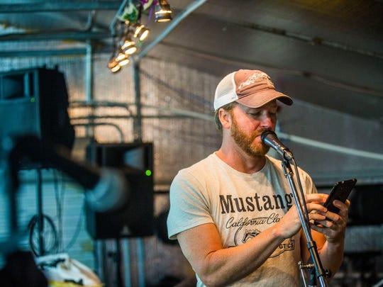 The Ben Allen Band rehearses in Golden Gate Estates on Monday, Aug. 28, 2017.