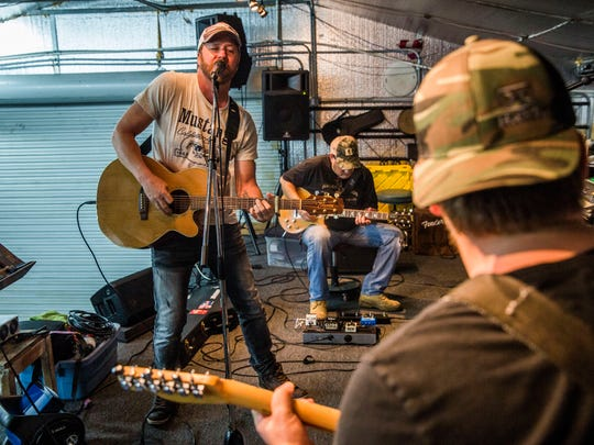 The Ben Allen Band rehearses in Golden Gate Estates in 2017. The band performs Feb. 1, 2020, at Winterfest in Sugden Park in East Naples.