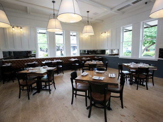 The dining room of Pubstreet, a new restaurant offering