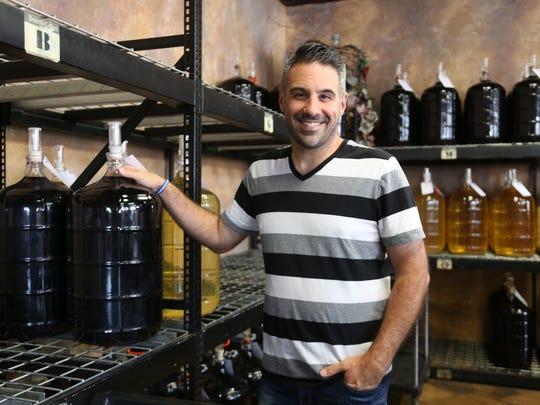 Frank Borrelli of Borrelli Cellars in Windsor's Little Italy.