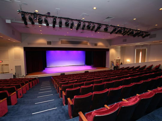 The Chappaqua Performing Arts Center, formerly the Reader's Digest auditorium, Aug. 30, 2017.