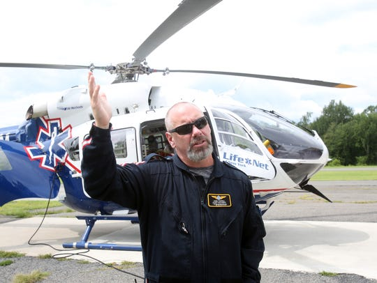 Flight paramedic James Gurriell, talks about the types