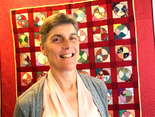 Marlene Stager, peer counselor and facilitator for