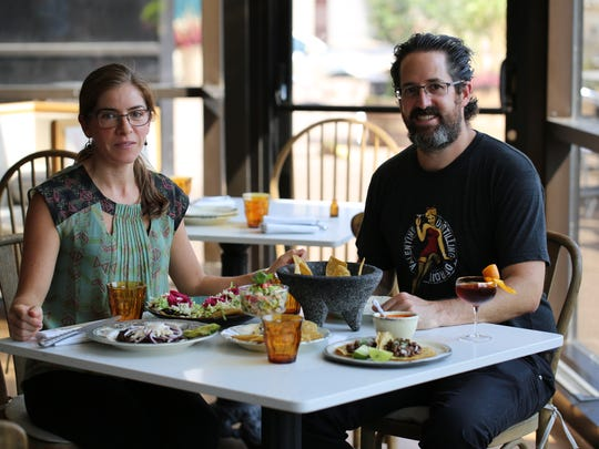Ana and Luis Negrete are co-owners along with Juan Carlos Negrete (not pictured) of La Dulce restaurant, which is closing after just five months operating out of the Crowne Plaza Hotel in downtown Detroit.