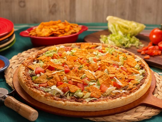 The Taco Pizza from Casey's.