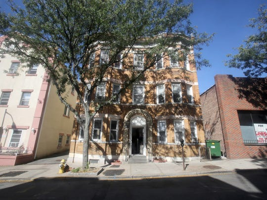 The apartment building at 145 Cortlandt St. in Sleepy