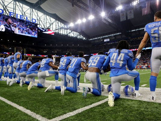Image result for nfl players protesting