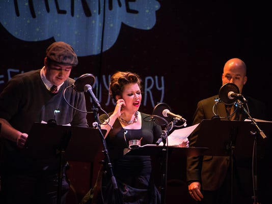 Fireside Mystery Theatre performing in New York City, 2015 photo: Bobby Singh/@fohphoto