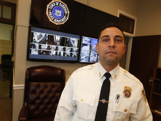 Harrison Police Chief Michael Olsey.