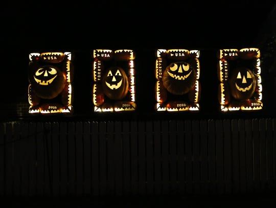 Scenes from The Great Jack O'Lantern Blaze at Van Cortlandt