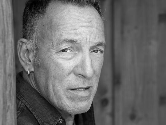 Bruce Springsteen  photographed in 2017 by Frank Stefanko.