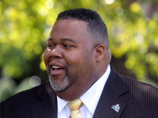 Michael Baston, Rockland Community College's new president,