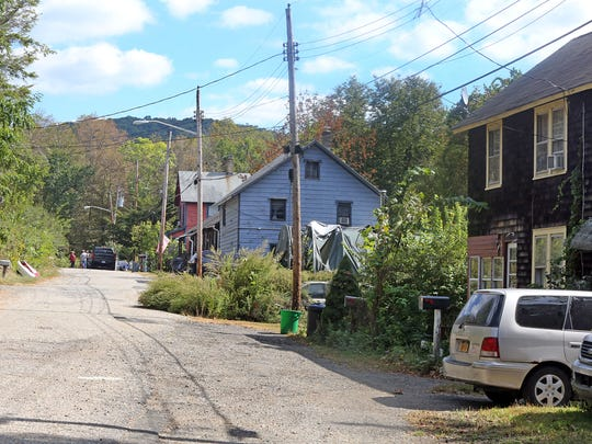 A view of homes on Lake Street in Ramapo Oct. 3, 2017. Ramapo had issued eviction notices to tenants living in the Hamlets of Ramapo. Some of the tenants have lived there for 60 years. Ramapo wants to sell the property for commercial use and is now tearing down two dilapidated houses of Torne Brook Road in the Hamlets. The eviction letters were never acted upon and were rescinded.