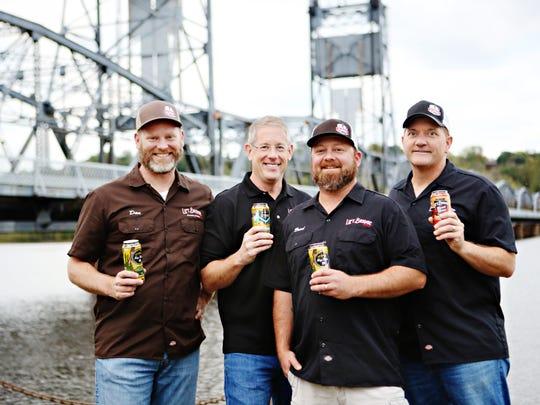 Lift Bridge Brewing was founded by Dan Schwarz, left,