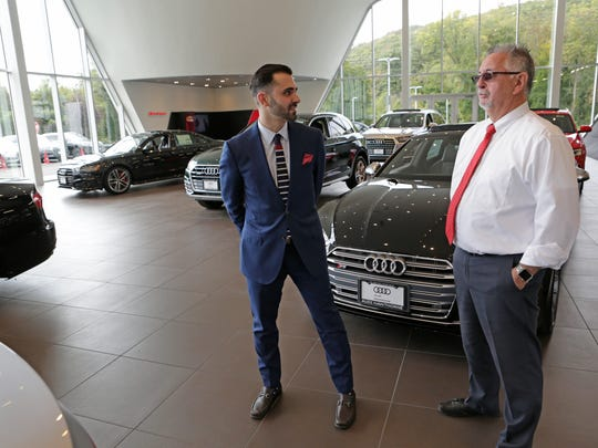 Nicholas Belli, general manager of the new Audi dealership