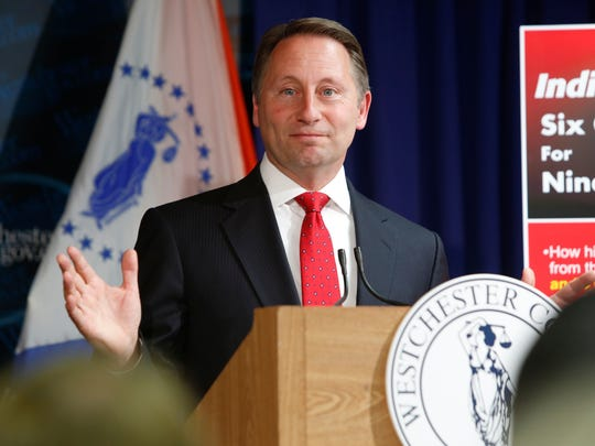 Westchester County Executive Robert Astorino takes