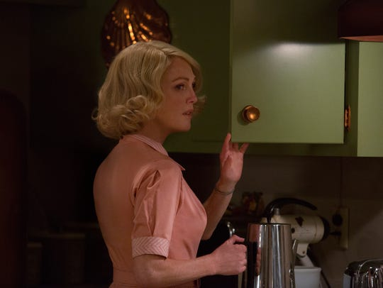 """In """"Suburbicon,"""" Julianne Moore plays Maggie (pictured)"""