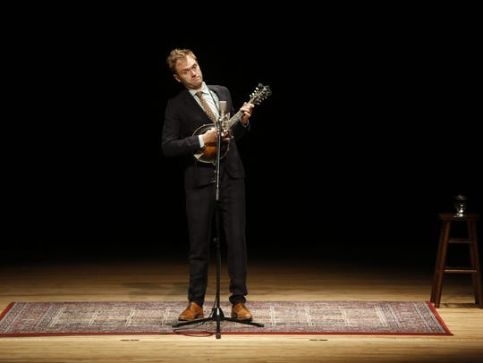 Chris Thile's solo show at FSU received two standing