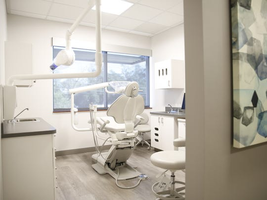 The dental suite at Care Point Health & Wellness Center