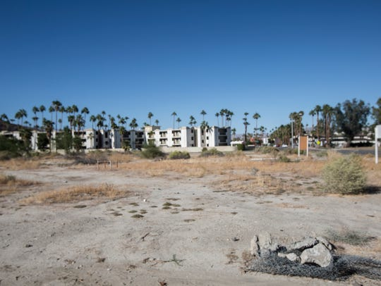 Blackhaus Hotels is looking to develop this site near downtown Palm Springs. It is also eyeing a property in La Quinta.