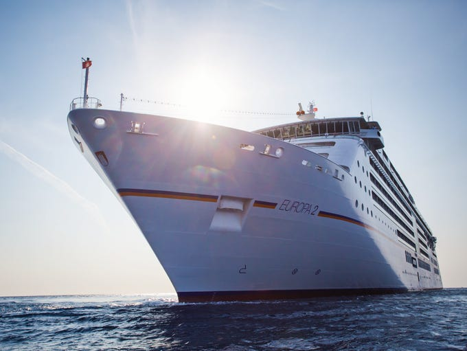 Christened in 2013, Hapag-Lloyd's Europa 2 is one of