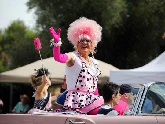 Bella da Ball will be an emcee in the Pride Festival and a participant in the Palm Springs Pride Parade this weekend.
