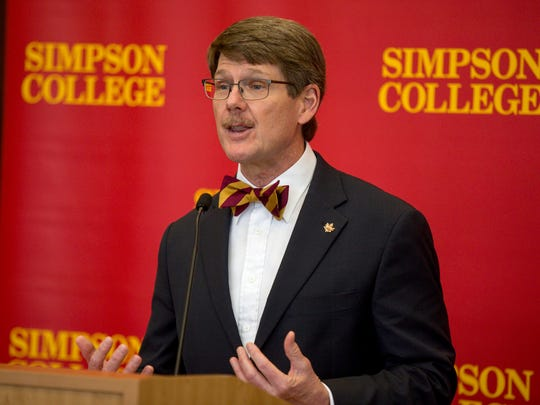 Simpson President Jay Simmons announced the promotion of Bob Nutgrass to athletic director in a news release Wednesday.