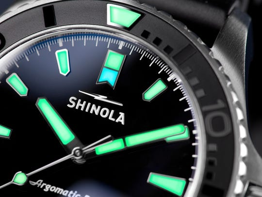 Shinola's first dive watch pays homage to a Lake Erie