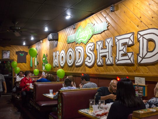 The Woodshed, a sports bar in Tempe, has been remodeled.