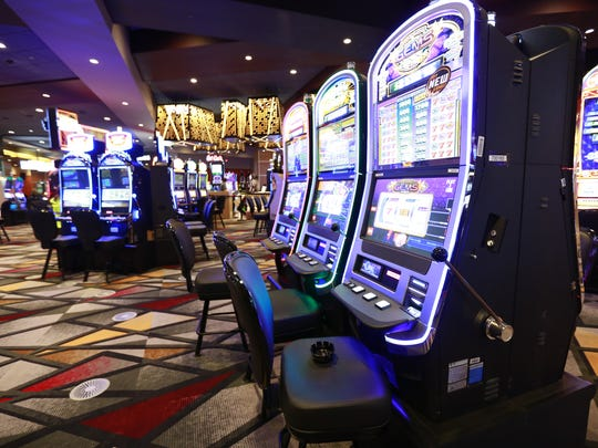 New gambling machines installed Wednesday, Nov. 8, 2017, at the Ho-Chunk Gaming Casino in Wittenberg, Wis.