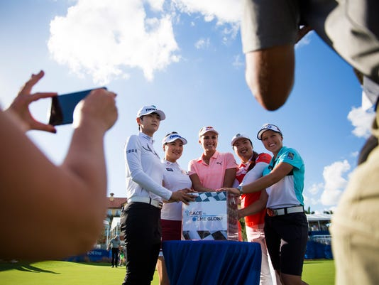 Golf: LPGA rotating at top spot without dominant player