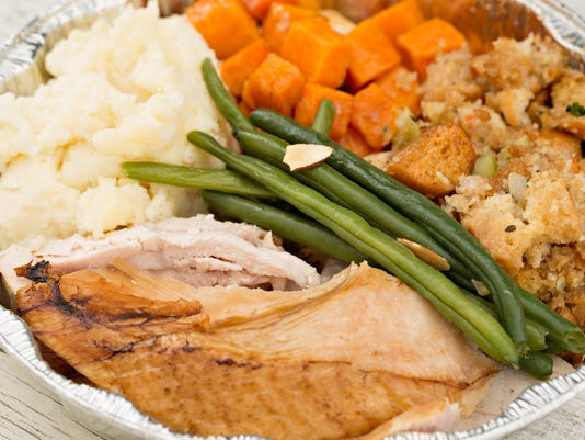 Thanksgiving dinner gets cheaper