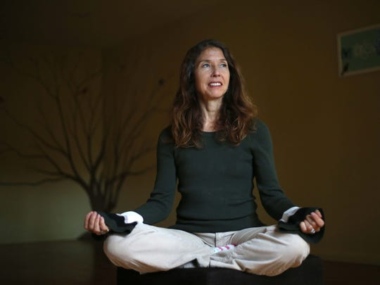 Christine Shaw, a yoga teacher, is a parent who sent