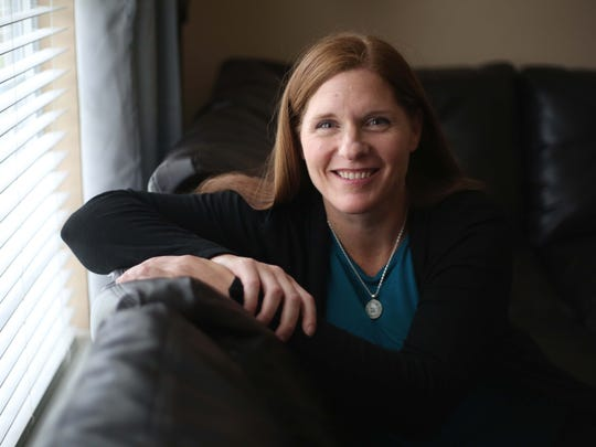 Kim Jones, 42, of Middletown, is in recovery after a long battle with addiction and working as a counselor to help others cope with addiction.