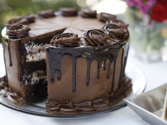 The perfect chocolate cake from Food Glorious Food,