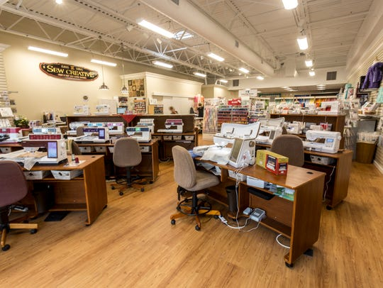 Sew Creative moved to Whitney Town Center