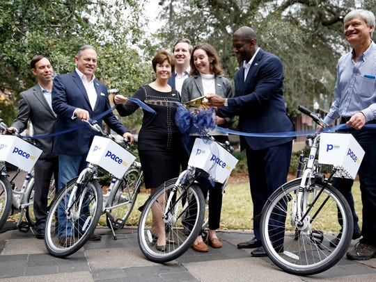 Zagster's new bike-sharing program Pace debuted in
