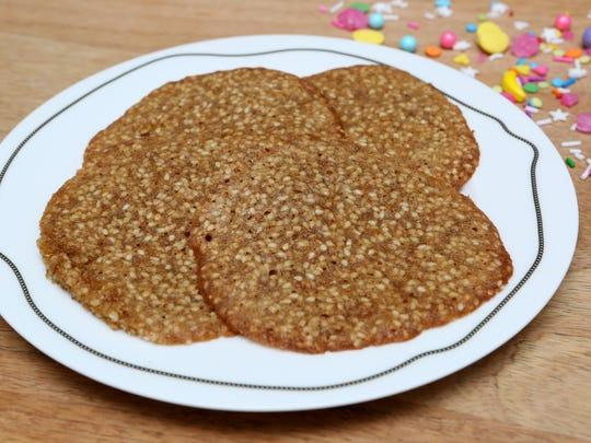 The Sesame Seed Cookie by reader Lucy Iscaro Nov. 28, 2017 in Hastings-On-Hudson.