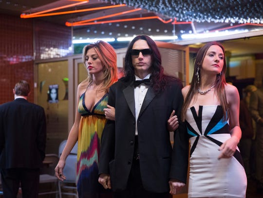 "James Franco plays an inept filmmaker and actor who is making a mess called ""The Room"" in the film-within-a-film comedy ""The Disaster Artist."""